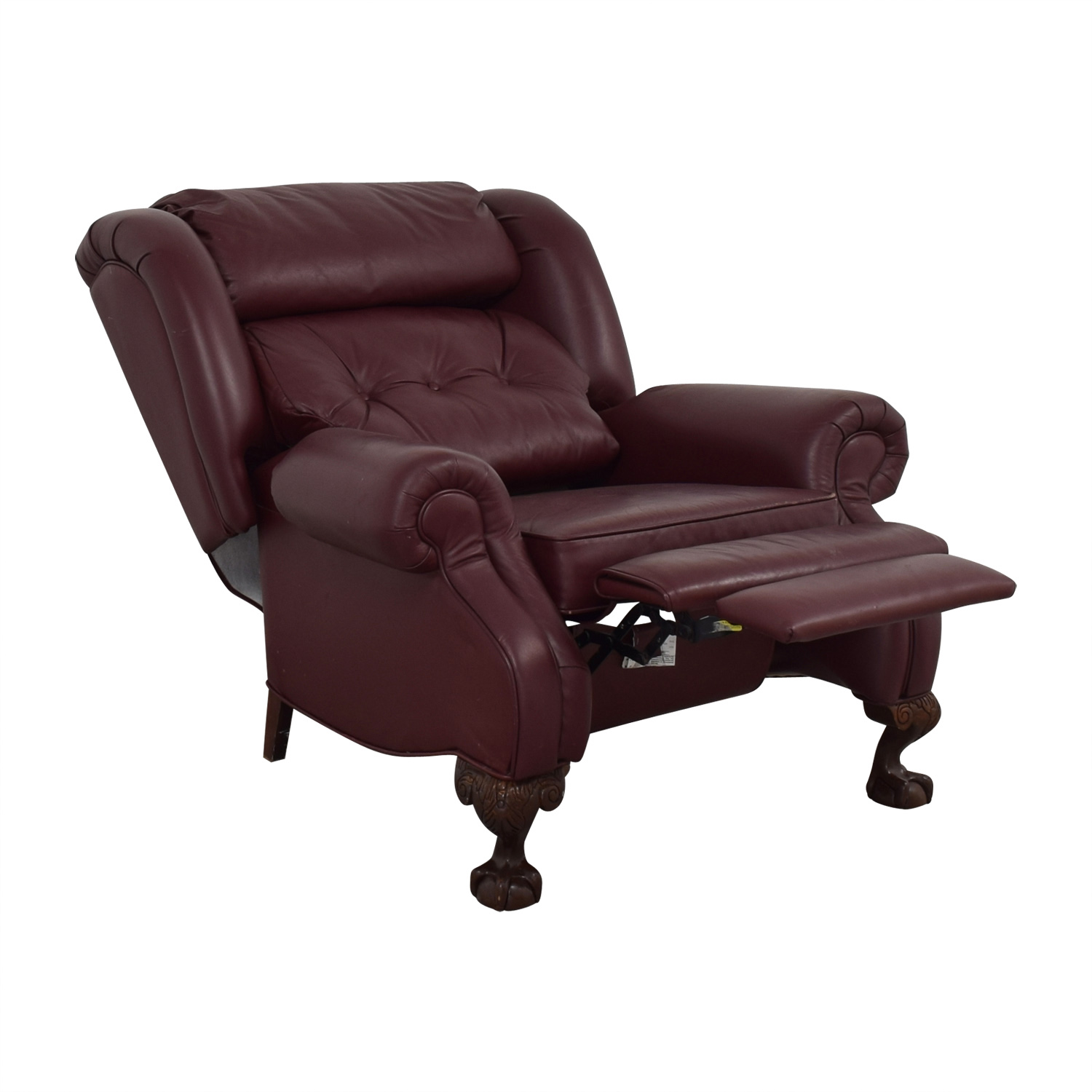 PeopLoungers PeopLoungers Burgundy Recliner for sale