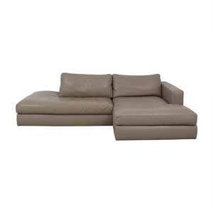 shop Design Within Reach Reid Sectional Sofa Design Within Reach