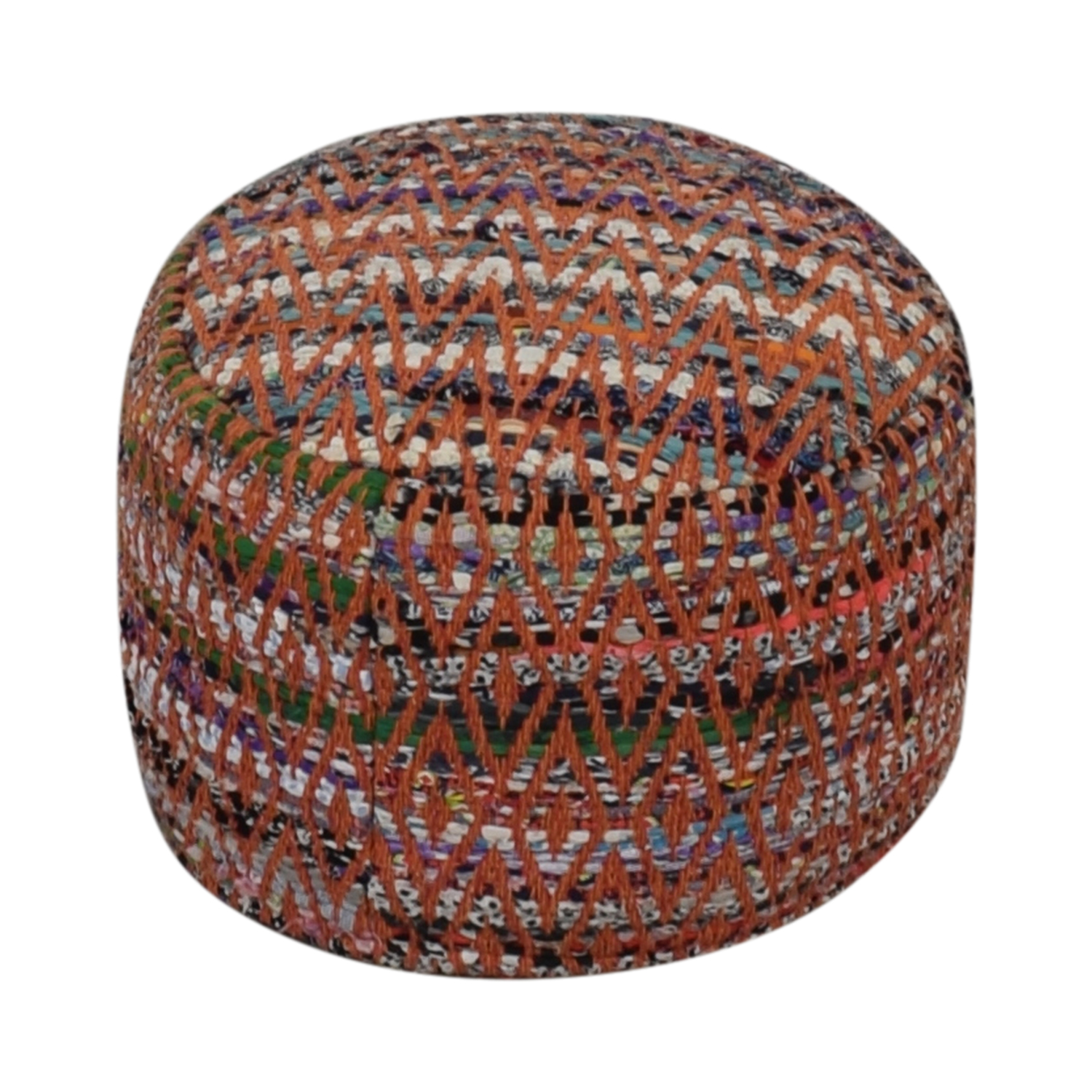 World Market World Market Multi-Colored Poof dimensions