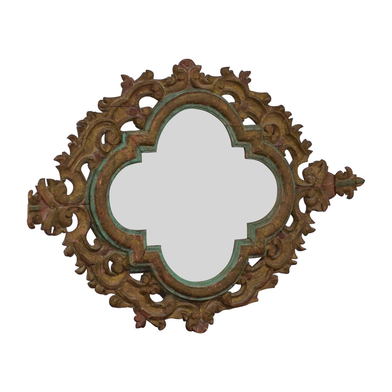 Scrolled Wall Mirror nj