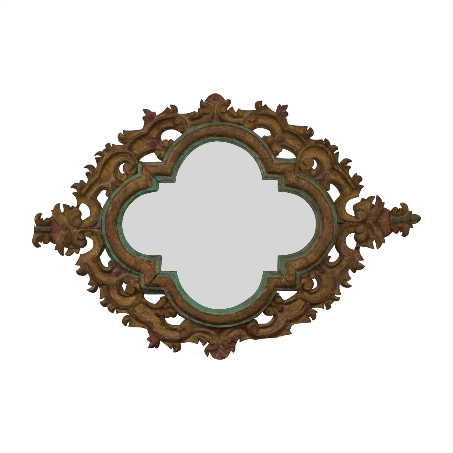 Scrolled Wall Mirror discount