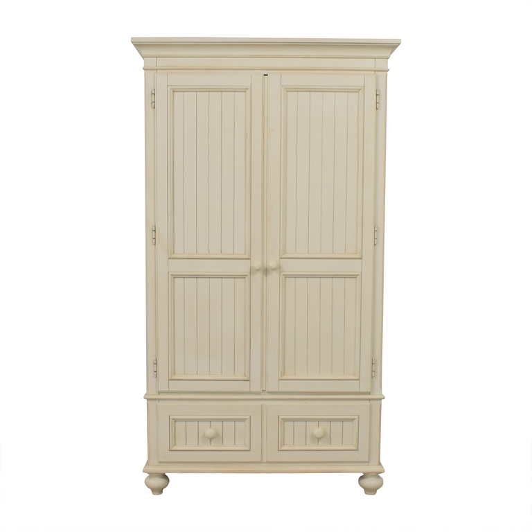 Ethan Allen Ethan Allen Cream Clothing Armoire used