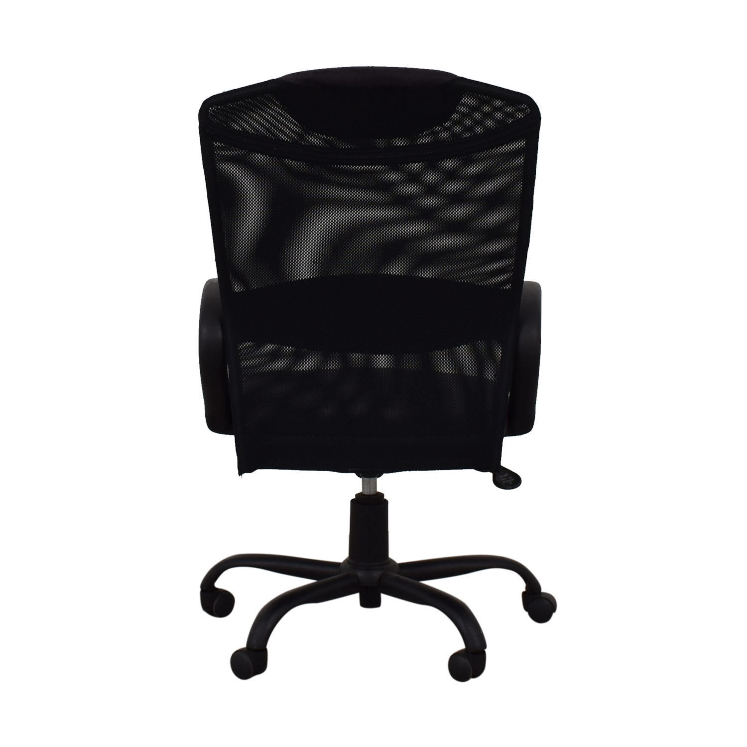 Black Ergonomic Desk Chair dimensions