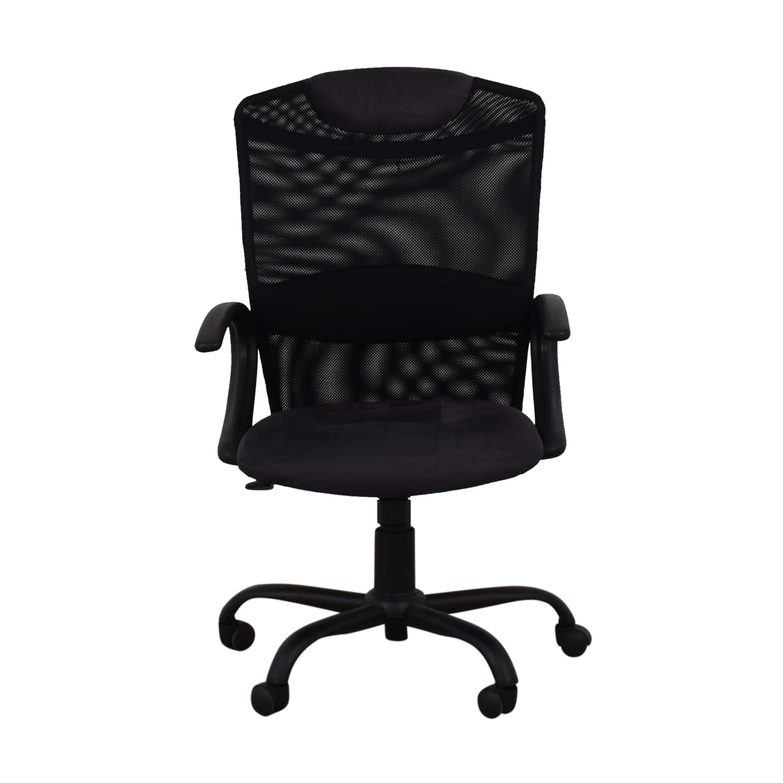 shop Black Ergonomic Desk Chair  Home Office Chairs