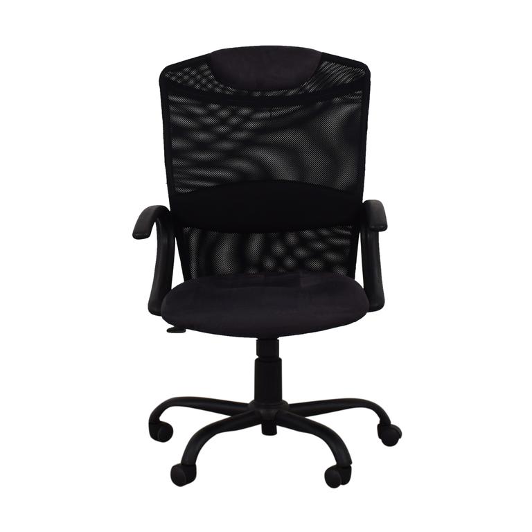 Black Ergonomic Desk Chair nyc