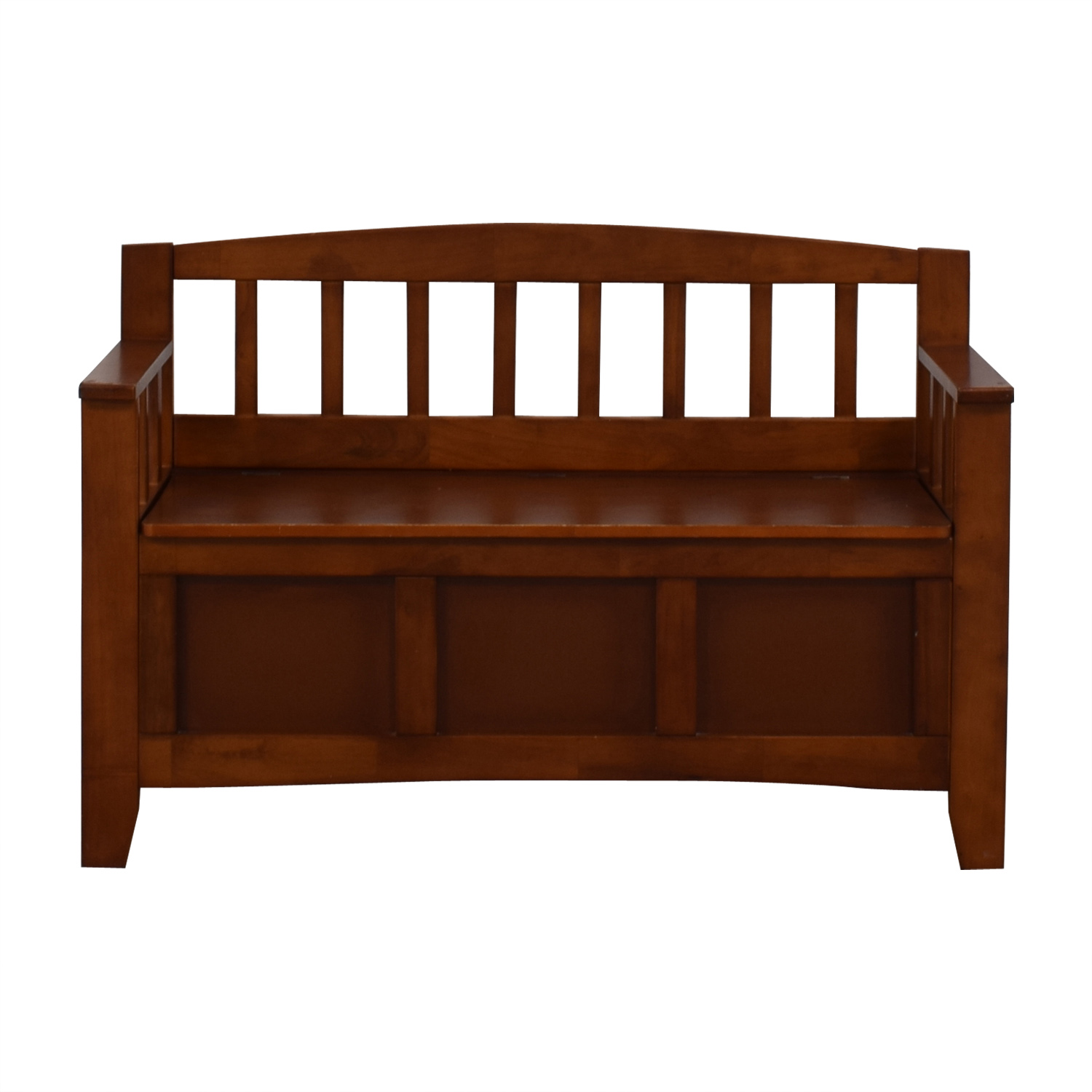 Wood Storage Bench for sale