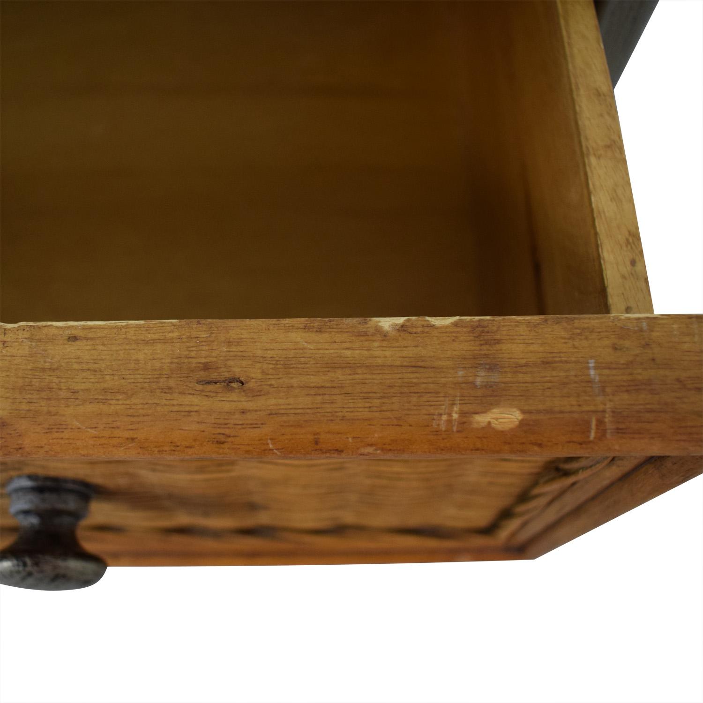 Pier 1 Pier 1 Imports Miranda Wicker Six-Drawer Dresser brown