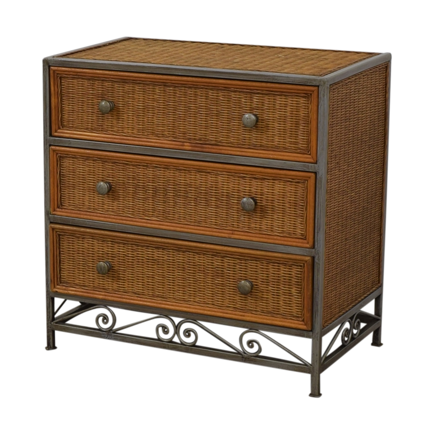 Pier 1 Imports Pier 1 Imports Miranda Three-Drawer Wicker Dresser coupon