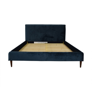 Interior Define Harper Queen Fabric Bed Frame Beds
