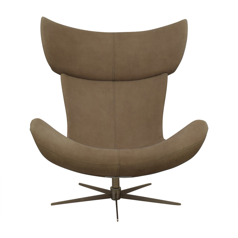 shop BoConcept Taupe Imola Lounge Chair BoConcept