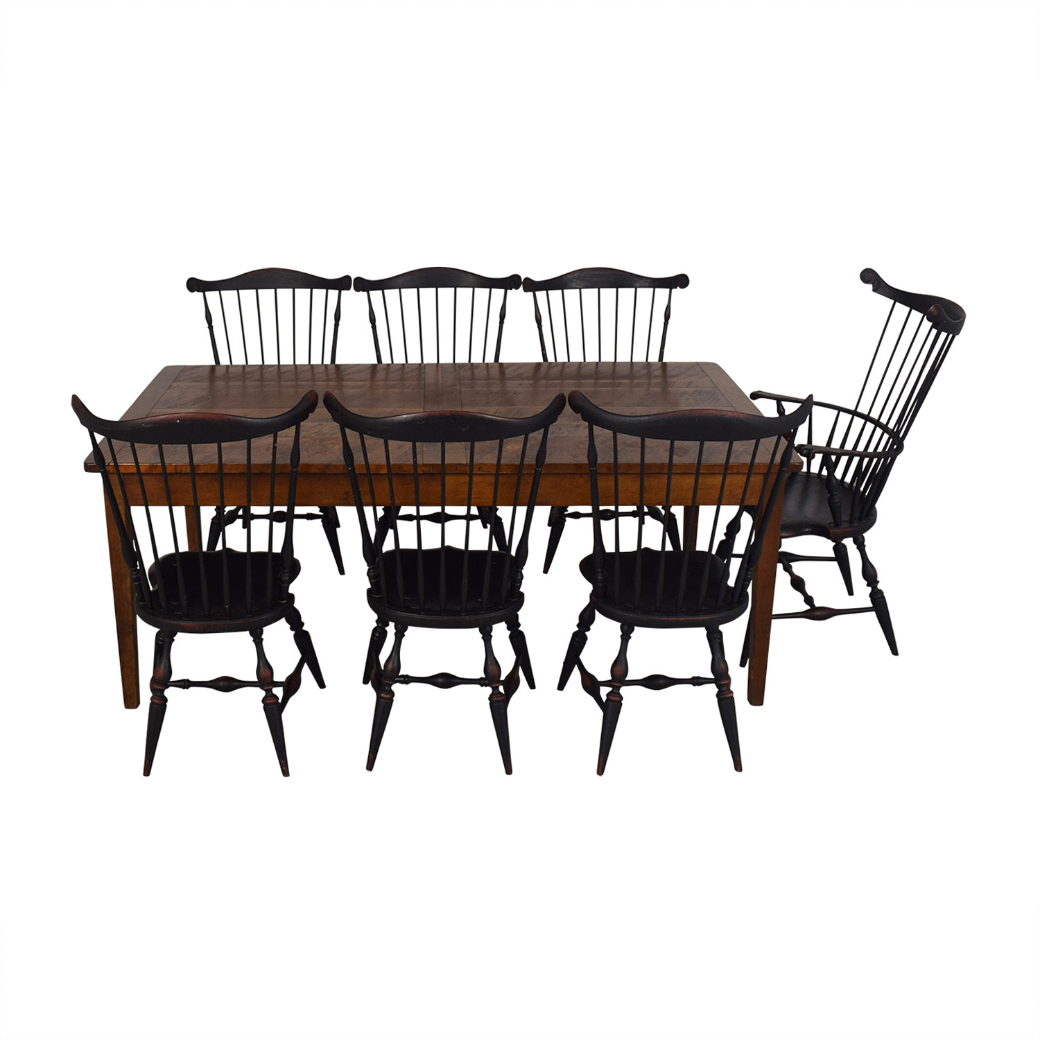 Distressed Dining Set second hand