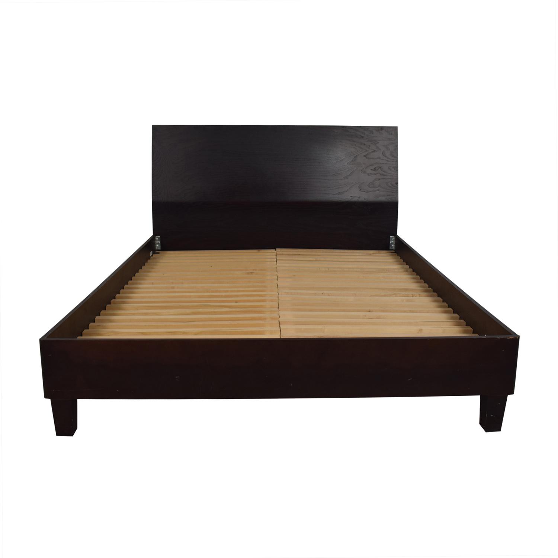 Baronet Canada Wood Queen Platform Bed Frame / Bed Frames