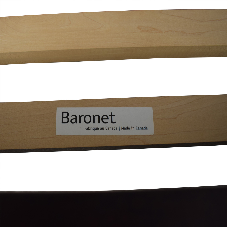 Baronet Baronet Canada Wood Queen Platform Bed Frame Bed Frames