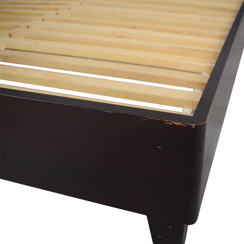 shop Baronet Canada Wood Queen Platform Bed Frame Baronet Beds