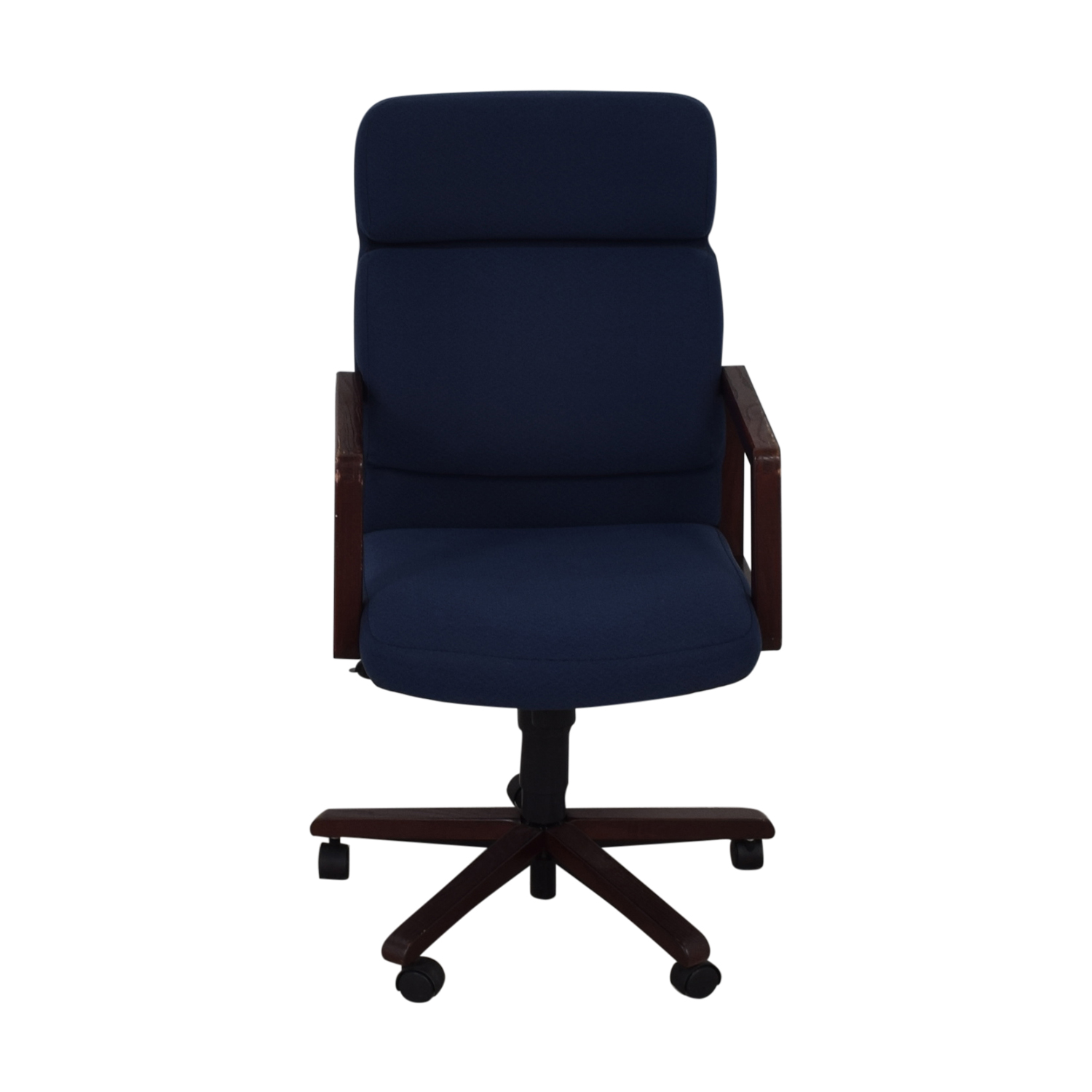 buy Blue Office Chair on Castors  Chairs