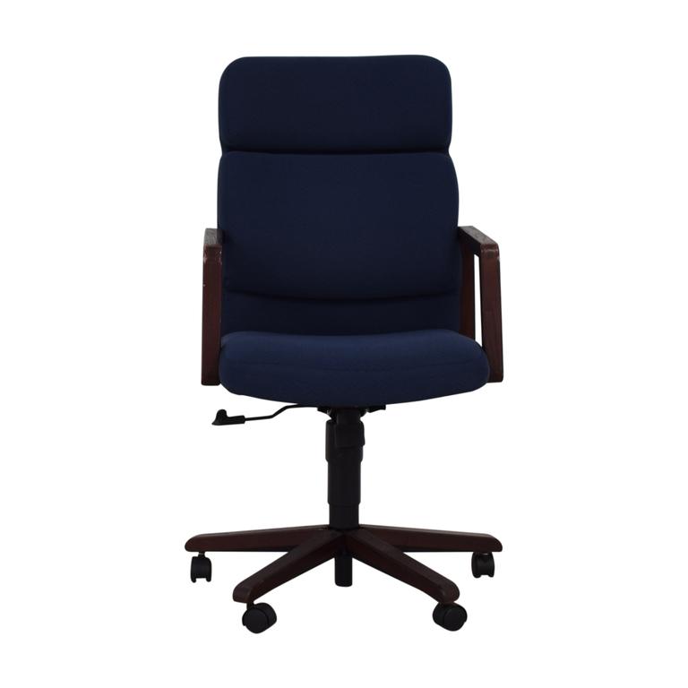 shop Blue Office Chair on Castors