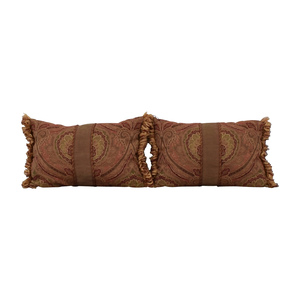 Paisley Decorative Pillows for sale