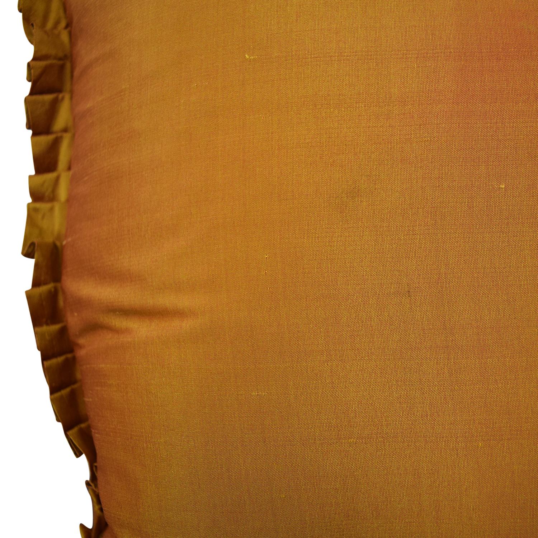 Custom Bronze Decorative Pillow