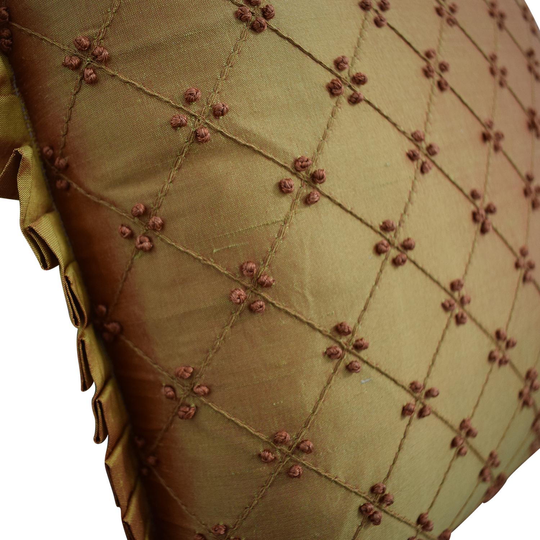 buy Custom Bronze Decorative Pillow  Decorative Accents