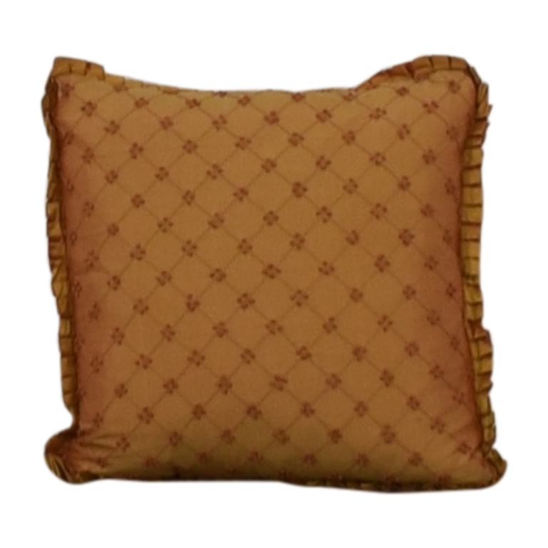 Custom Bronze Decorative Pillow