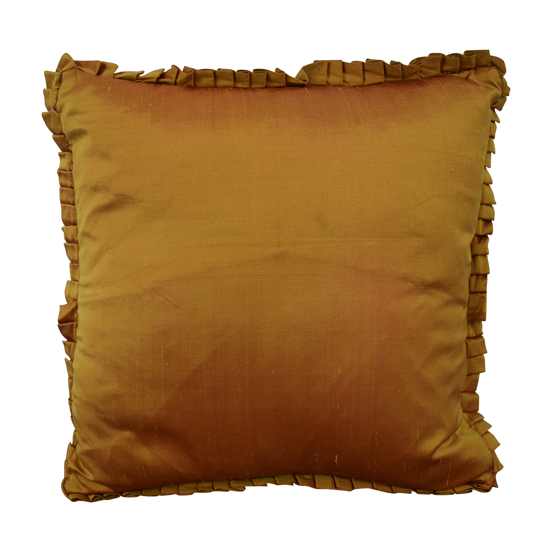 buy Custom Bronze Decorative Pillow