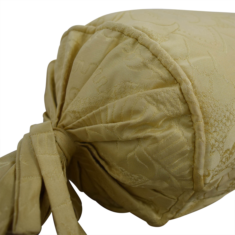 Custom Gold Decorative Neck Pillow nj