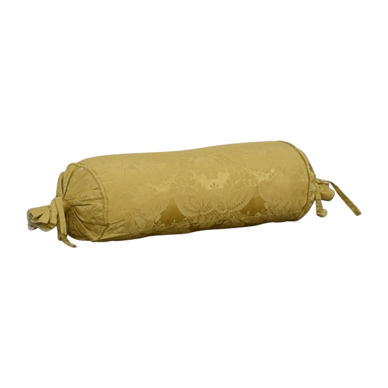 buy Custom Gold Decorative Neck Pillow