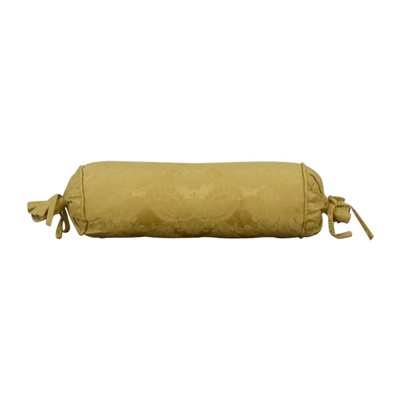 Custom Gold Decorative Neck Pillow discount