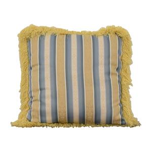 shop Custom Blue and Gold Decorative Pillow