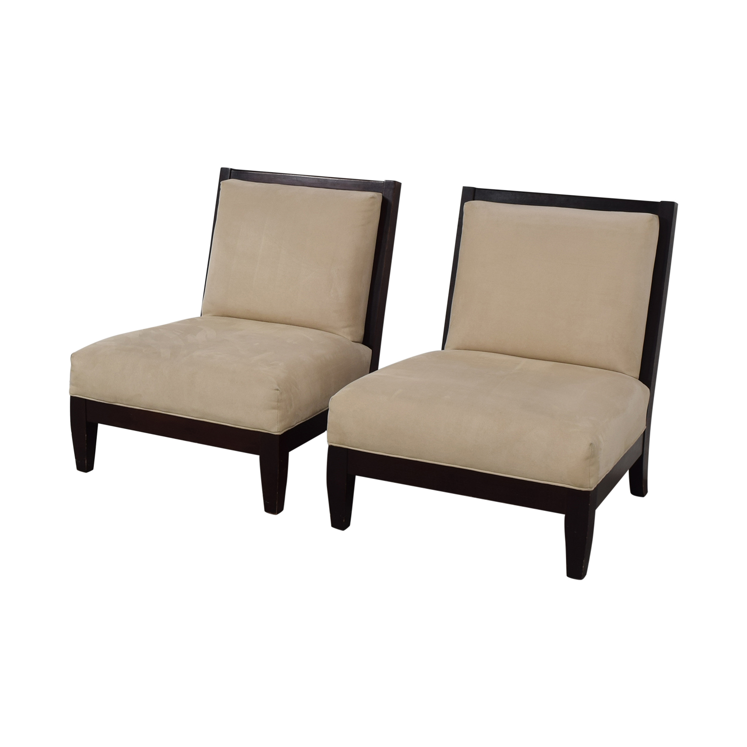 Room & Board Room & Board Beige and Black Accent Chairs nyc
