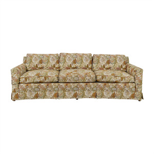 Henredon Furniture Henredon Feather Down Floral Three-Cushion Couch price