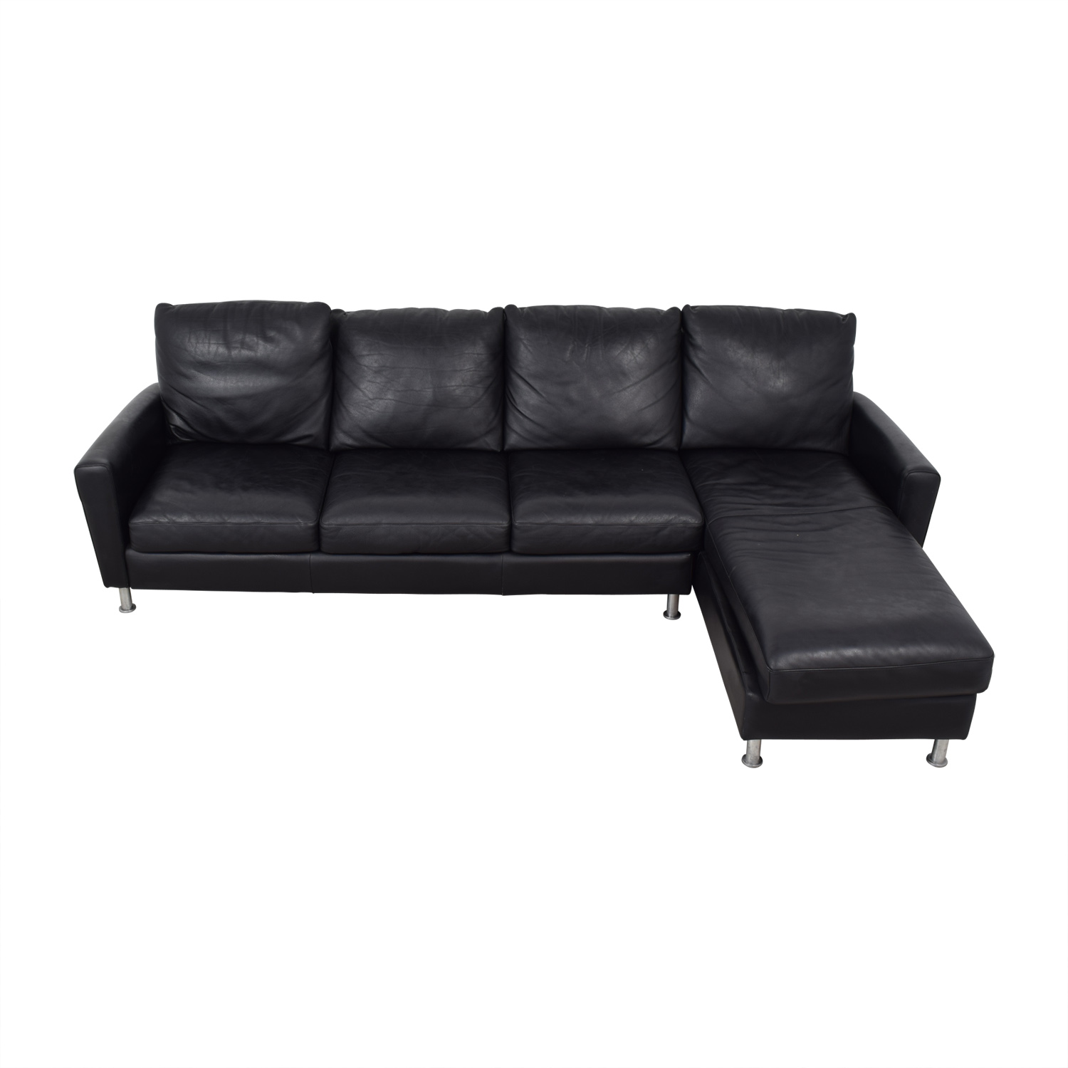 American Leather Company American Leather Company Sectional With Chaise nj