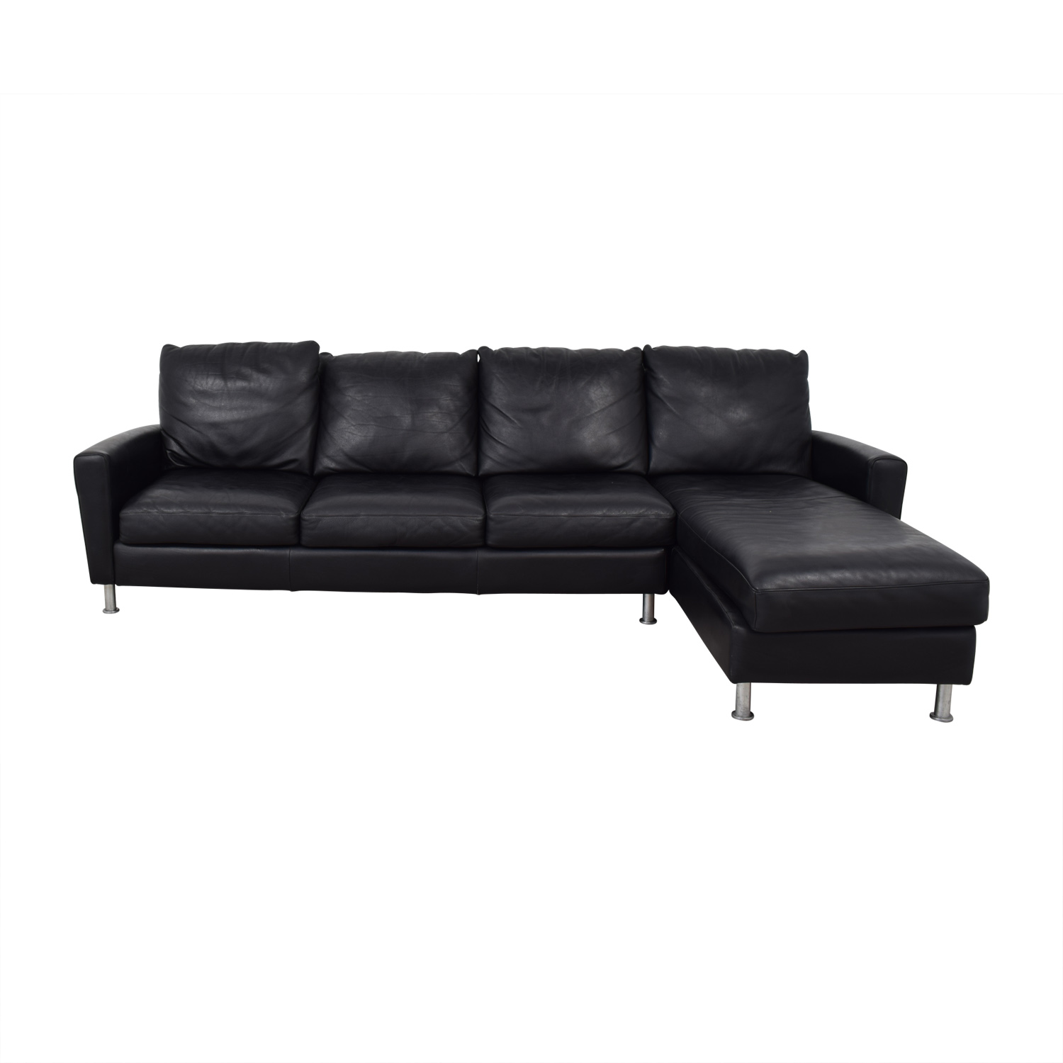 American Leather Company American Leather Company Sectional With Chaise Sectionals