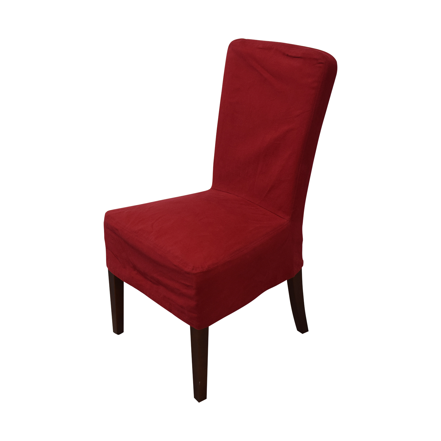 shop Pottery Barn Pottery Barn Parsons Red Chairs online