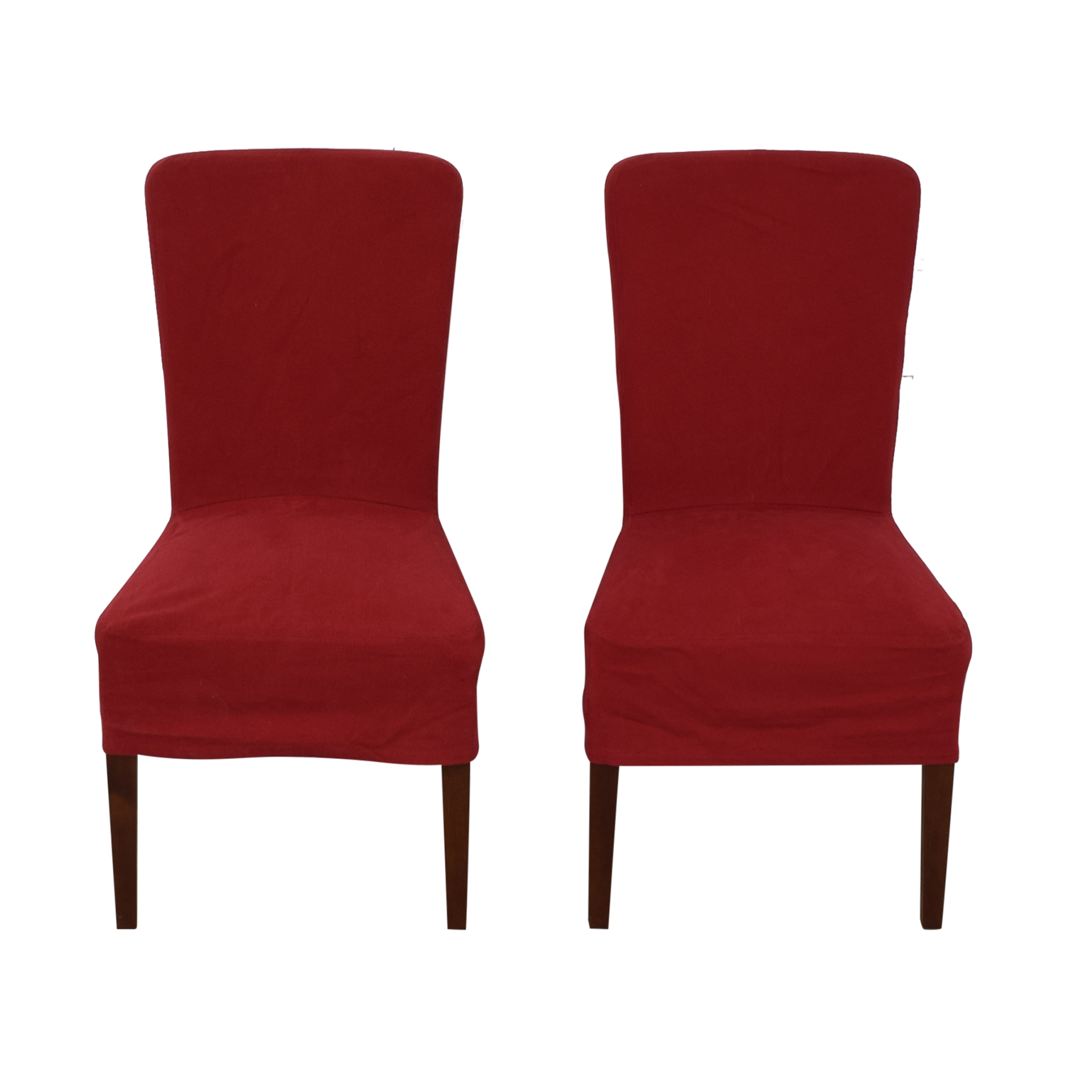 Pottery Barn Pottery Barn Parsons Red Chairs coupon