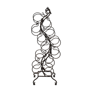 Battalglias Black Metal Wine Rack
