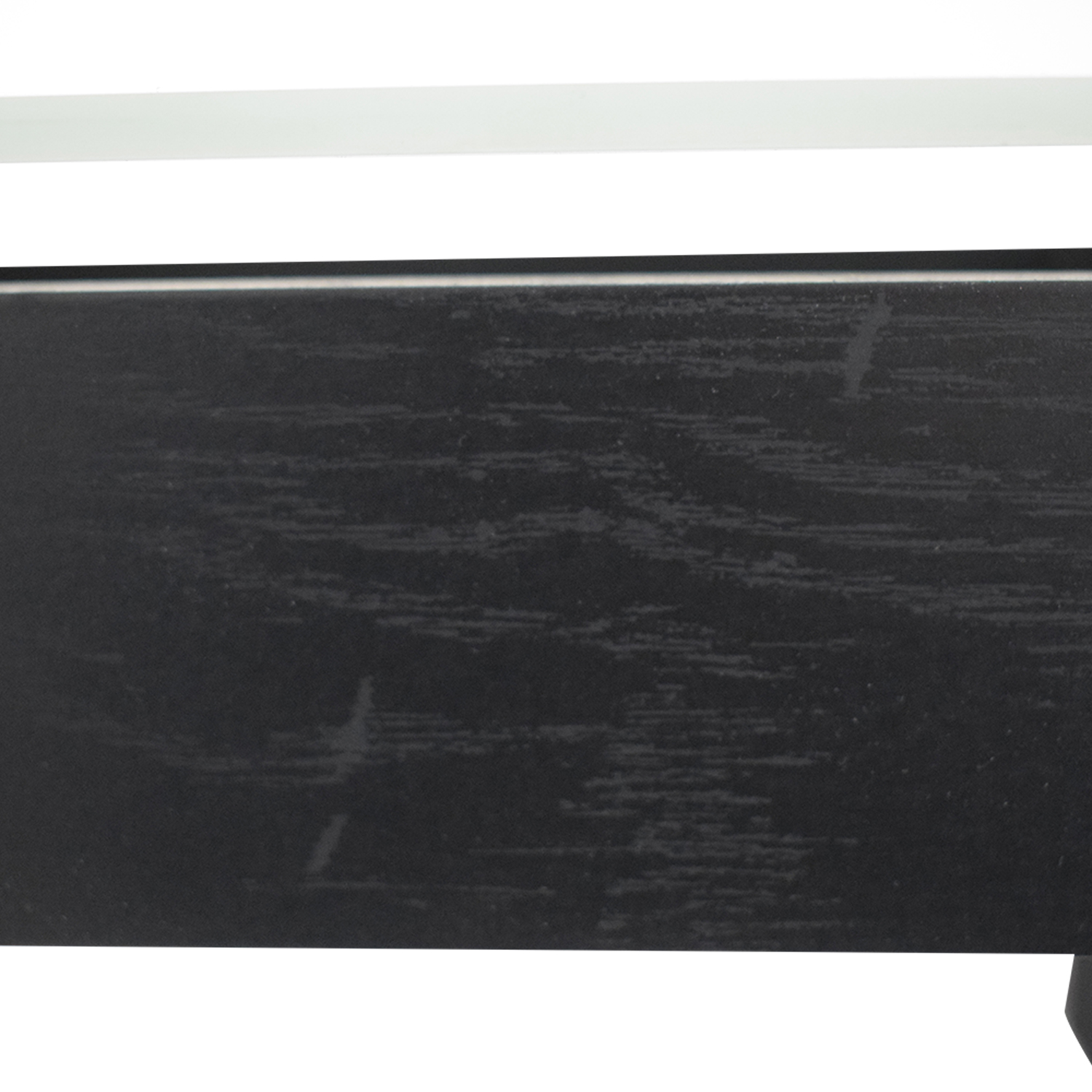 Single Drawer Wood and Glass Entertainment Stand discount