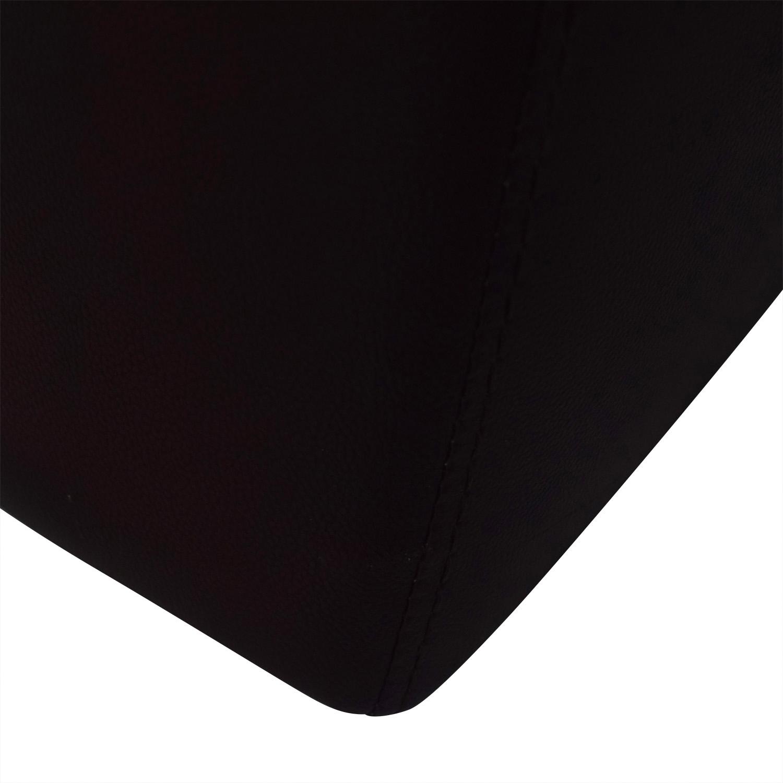 Raymour & Flanigan Raymour & Flanigan Reclining Brown Two-Cushion Sofa price