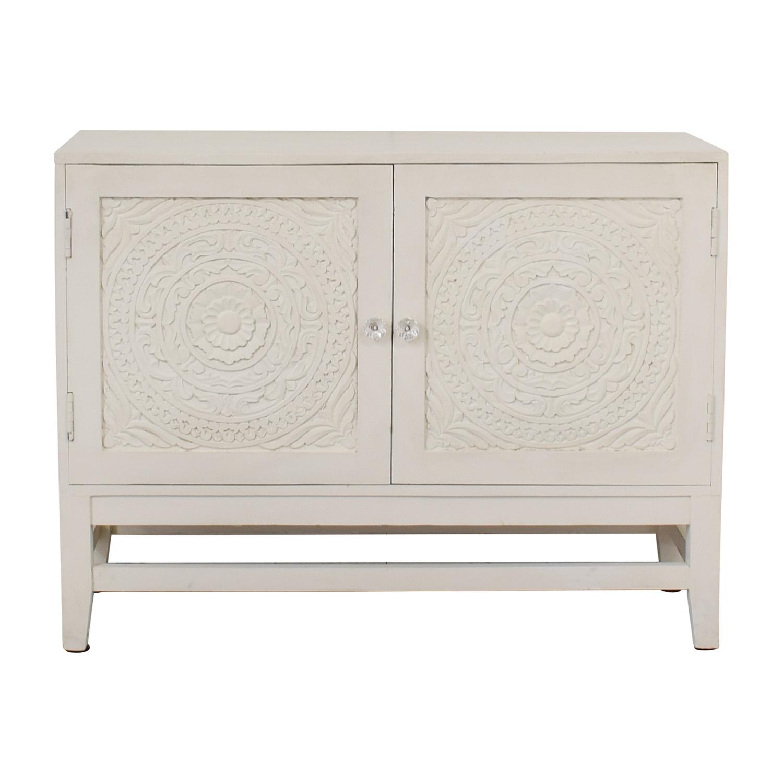 Ordinaire 74% OFF   HomeGoods HomeGoods Floral Carved Sideboard / Storage