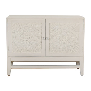 shop HomeGoods Floral Carved Sideboard HomeGoods
