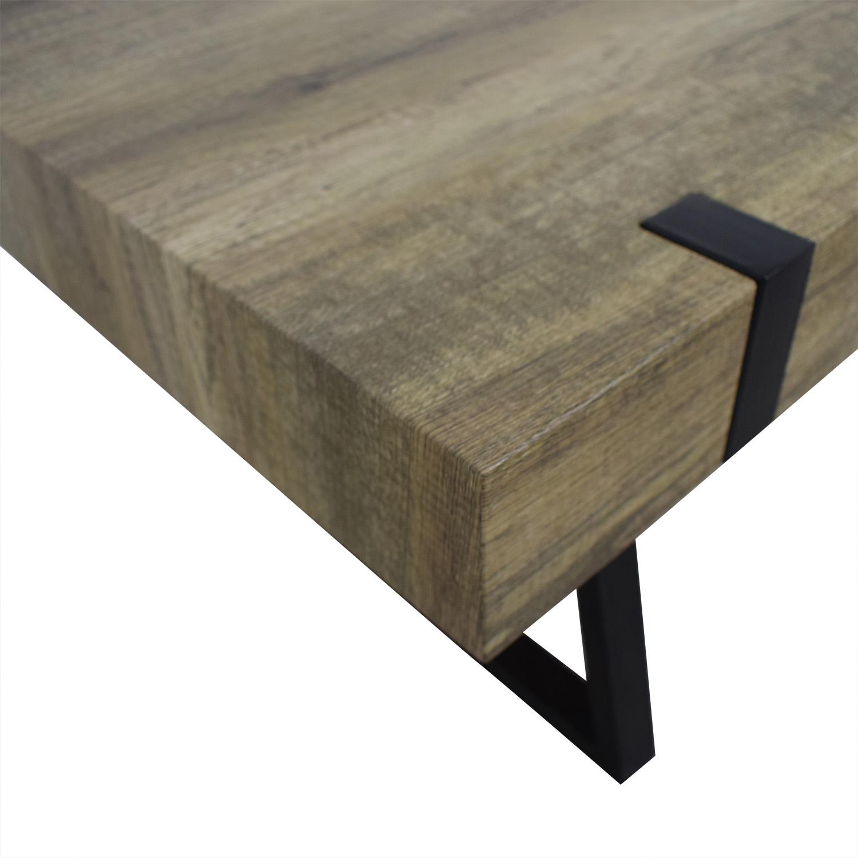 Wayfair Wayfair Metal & Wood Coffee Table discount