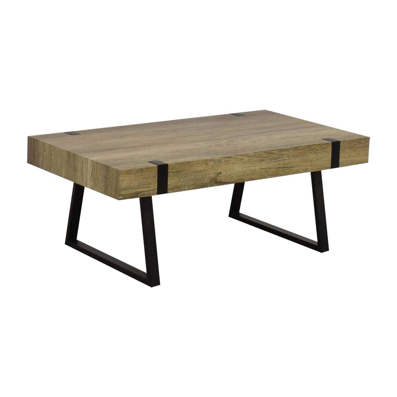 Wayfair Metal & Wood Coffee Table / Tables