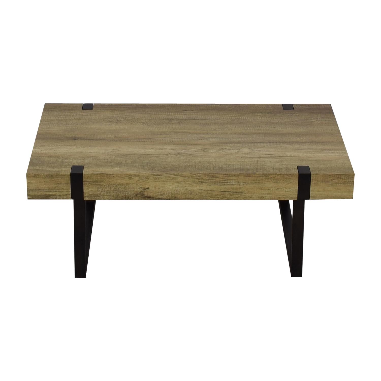 Wayfair Wayfair Metal & Wood Coffee Table second hand