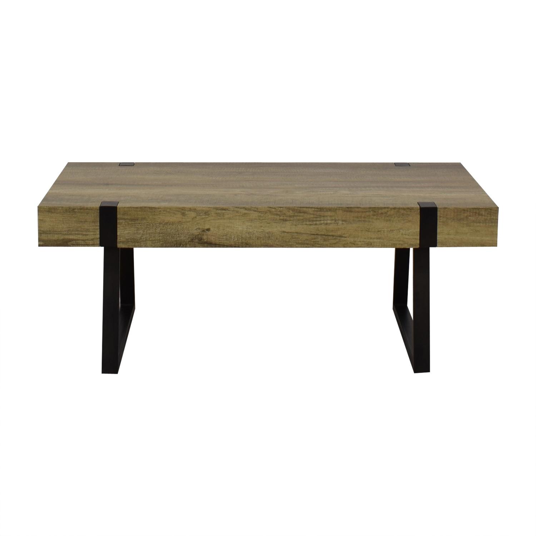 Wayfair Wayfair Metal & Wood Coffee Table Tables