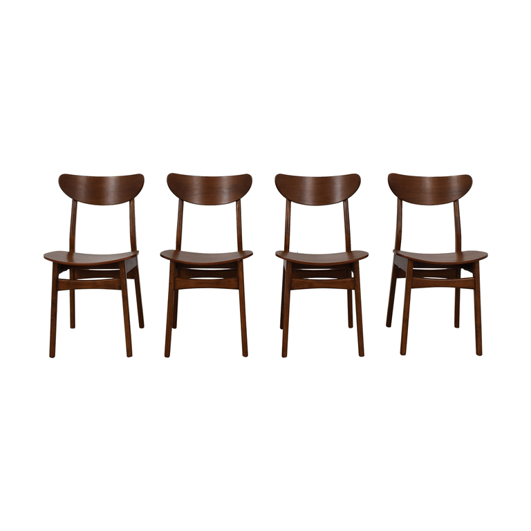 West  Elm West Elm Classic Cafe Dining Chairs nyc