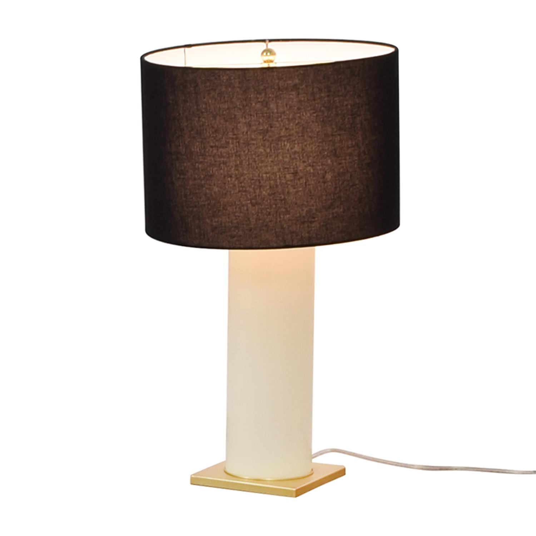 Kate Spade Kate Spade Black Gold and Creme Table Lamp dimensions