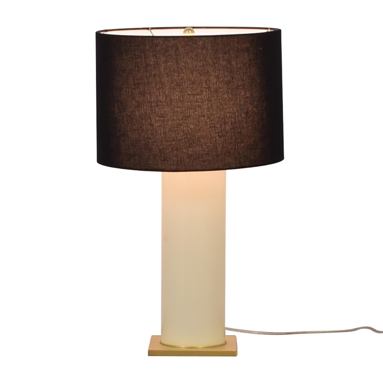 Kate Spade Kate Spade Black Gold and Creme Table Lamp Decor