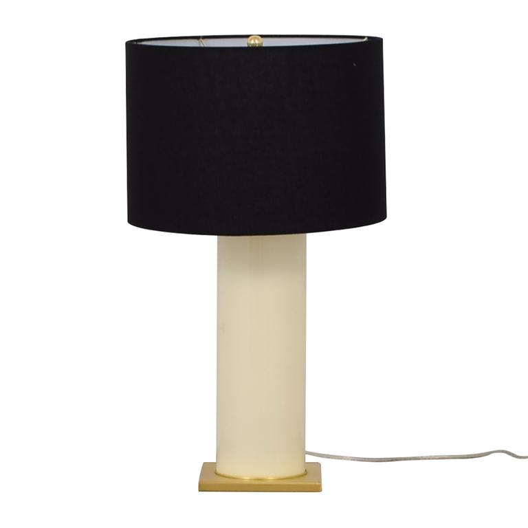 Kate Spade Kate Spade Black Gold and Creme Table Lamp coupon