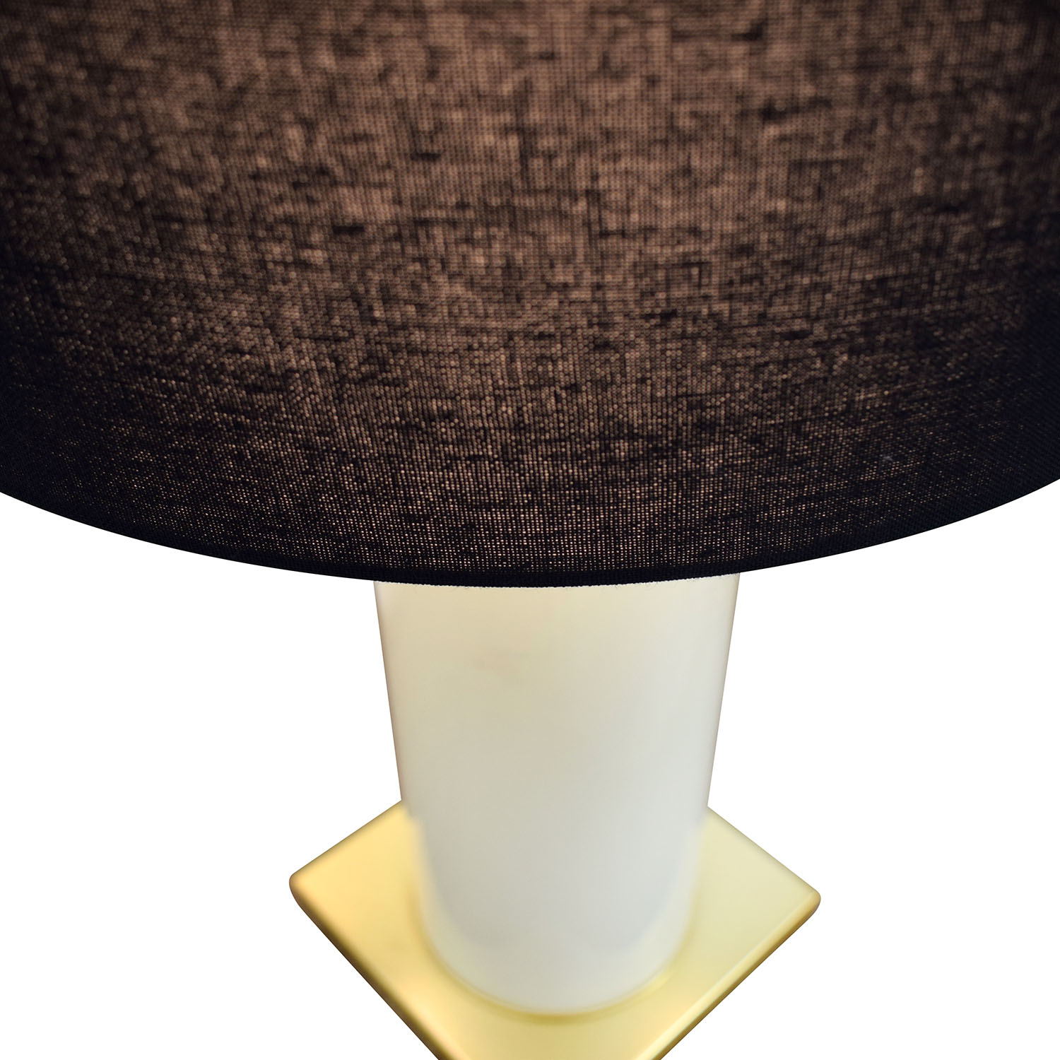 Kate Spade Black Gold and Creme Table Lamp / Decor