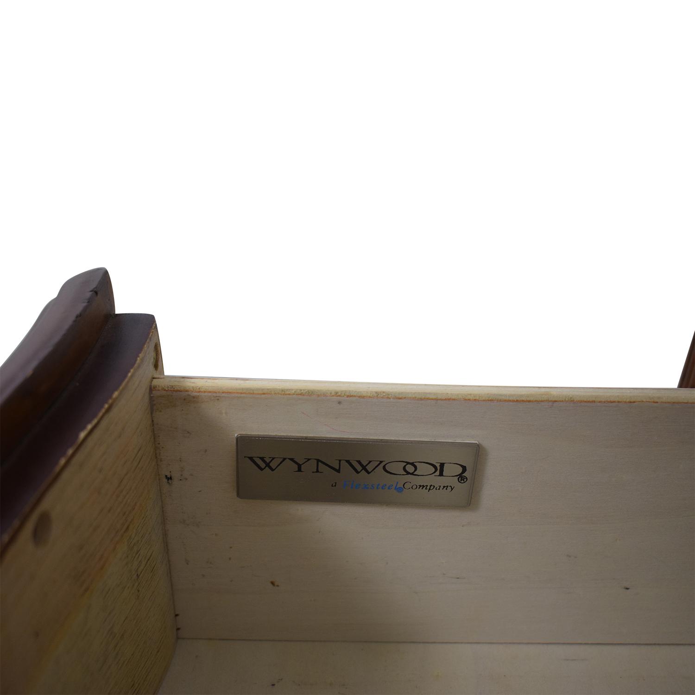 shop Wynwood Flexsteel Three Drawer Night Stand Wynwood Storage